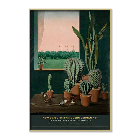 Georg Scholz_Cacti and Semaphore Poster