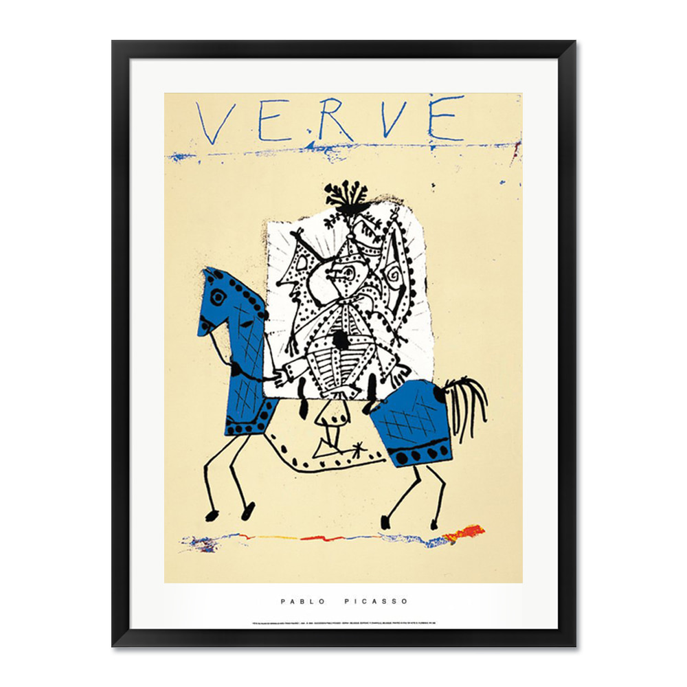Pablo Picasso_Cover for Verve, 1951