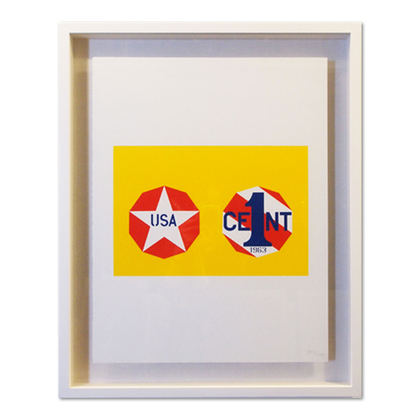Robert Indiana_The new glory penny