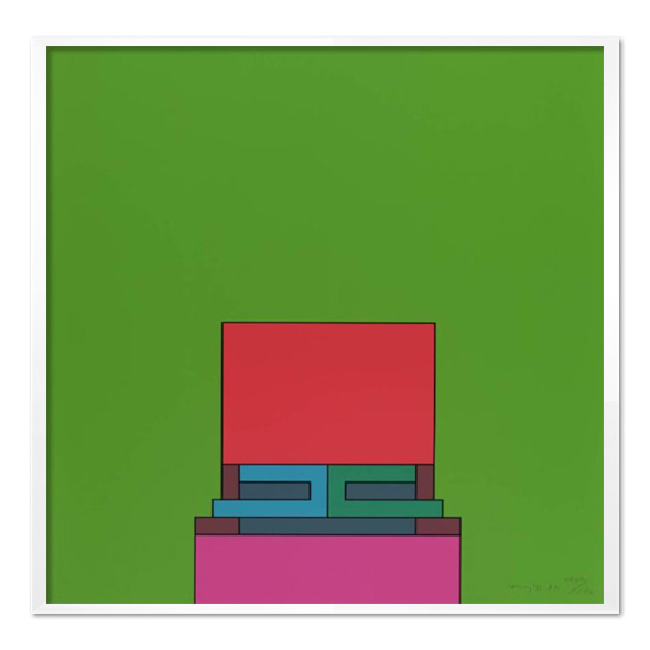 Robyn Denny_The Heavenly Suite (green), 1971
