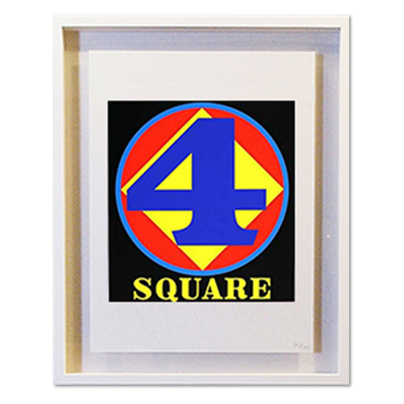 Robert Indiana_Polygon square