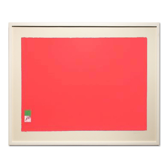 Marc Vaux_Untitled(Red),1971