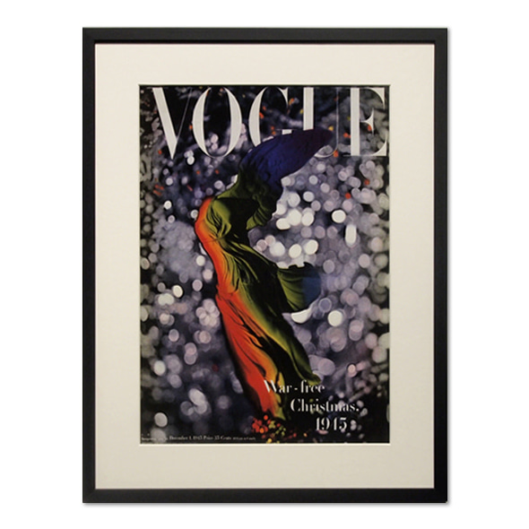Erwin Blumenfeld_VOGUE: COVER - DECEMBER 1945