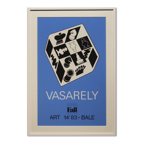 Victor Vasarely_Fall Poster
