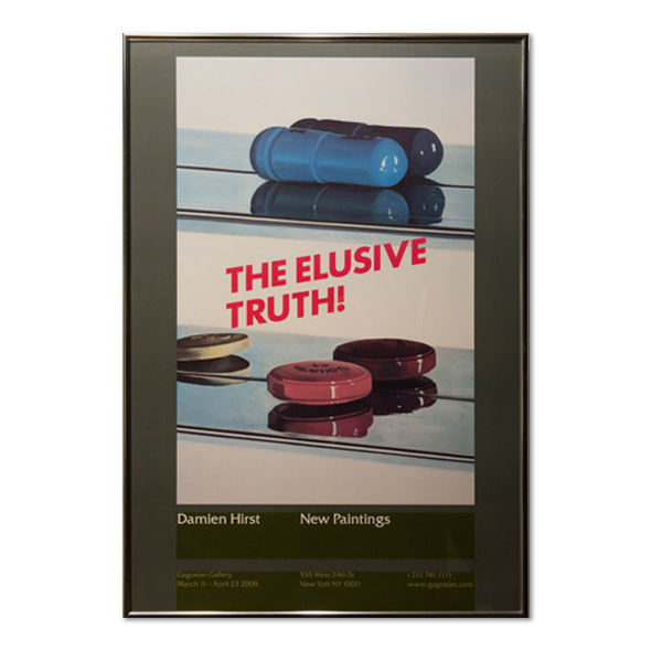 Damien Hirst_The Elusive Truth(Two Pills)