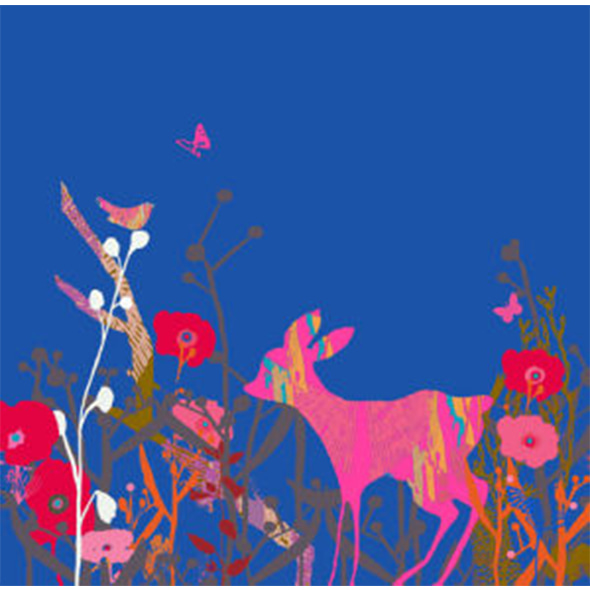 Tiffany Lynch_Little Bird and Deer Sky