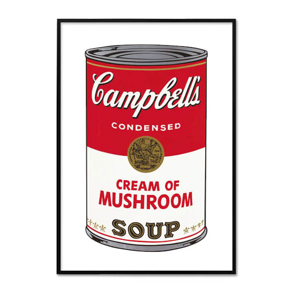 Andy Warhol_CAMPBELL'S SOUP I_CREAM OF MUSHROOM, 1968