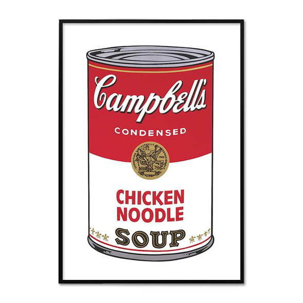 Andy Warhol_CAMPBELL'S SOUP I_CHICKEN NOODLE, 1968