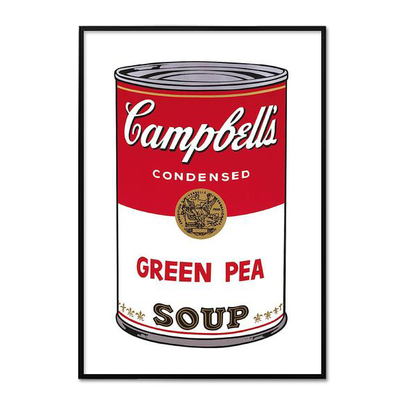 Andy Warhol_CAMPBELL'S SOUP I_GREEN PEA, 1968