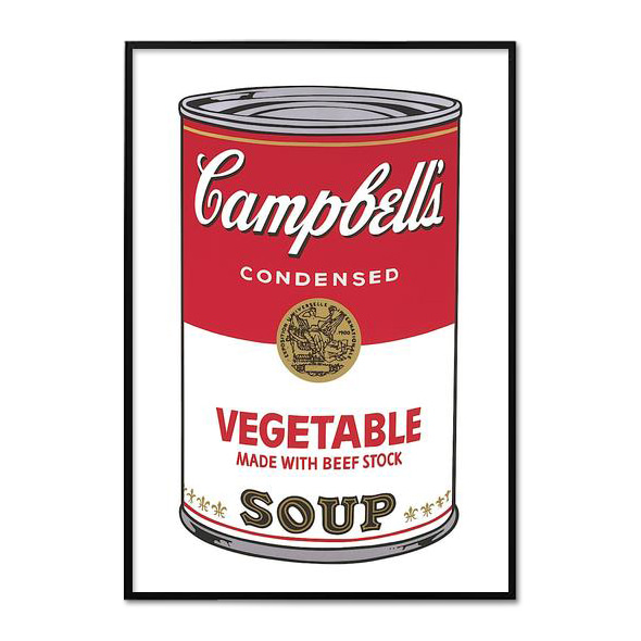 Andy Warhol_CAMPBELL'S SOUP I_VEGETABLE, 1968