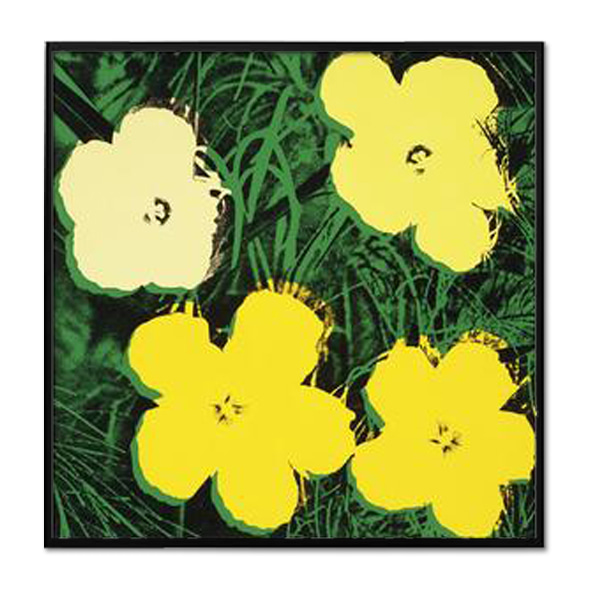 Andy Warhol_FLOWERS, 1970 (4 YELLOW)
