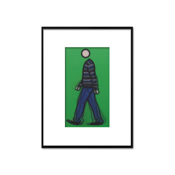 Julian Opie_Jeremy-walking-in-stripy-jumper-2010