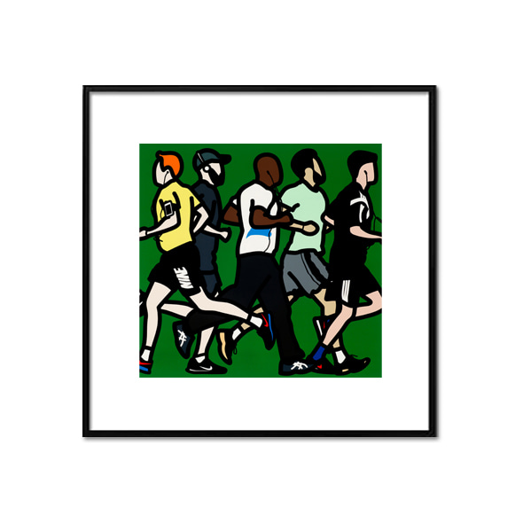 Julian Opie_Running-men-2016
