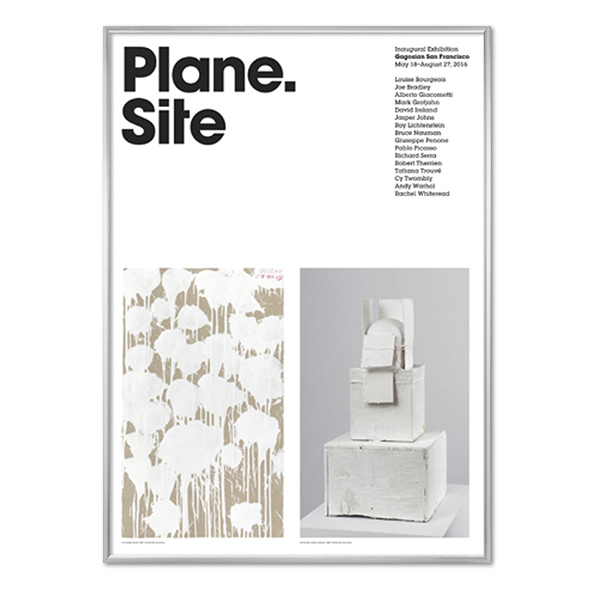 Plane.Site_Cy Twombly Poster