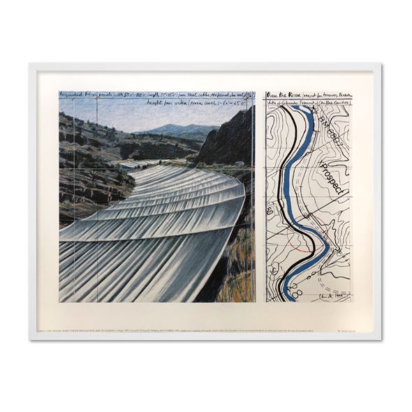 Christo and Jeanne-Claude_Over the River, Project for Arkansas River, State of Colorado_001