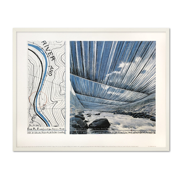 Christo and Jeanne-Claude_Over the River, Project for Arkansas River, State of Colorado_002