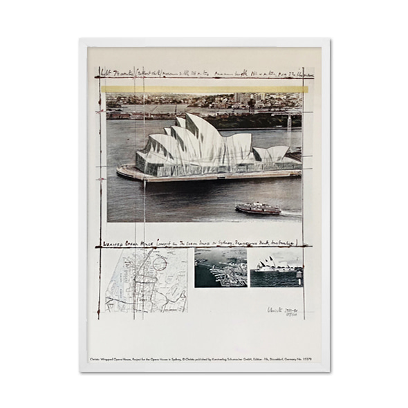 Christo and Jeanne-Claude_Wrapped Opera House, Project for the Opera House in Sydney