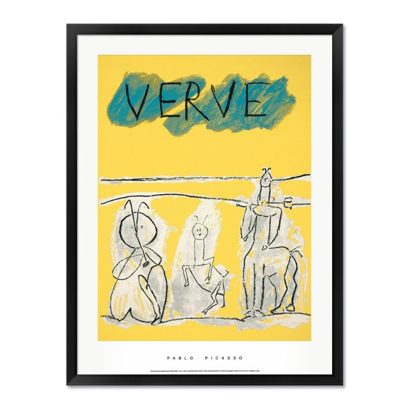 Pablo Picasso_COVER FOR VERVE