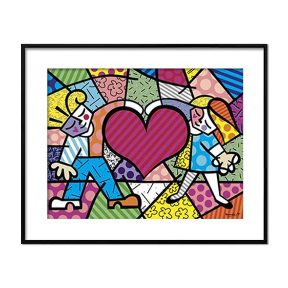 Romero Britto_HEART KIDS
