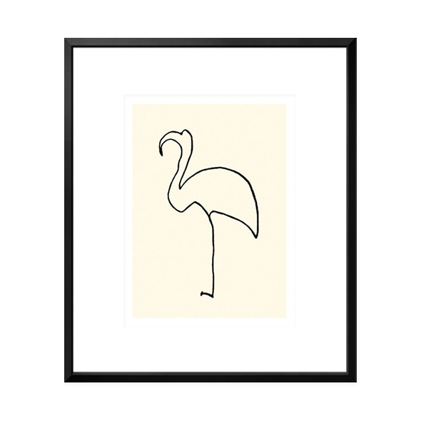 Pablo Picasso_Le flamand rose
